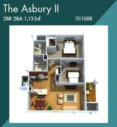 Asbury II apartment for rent