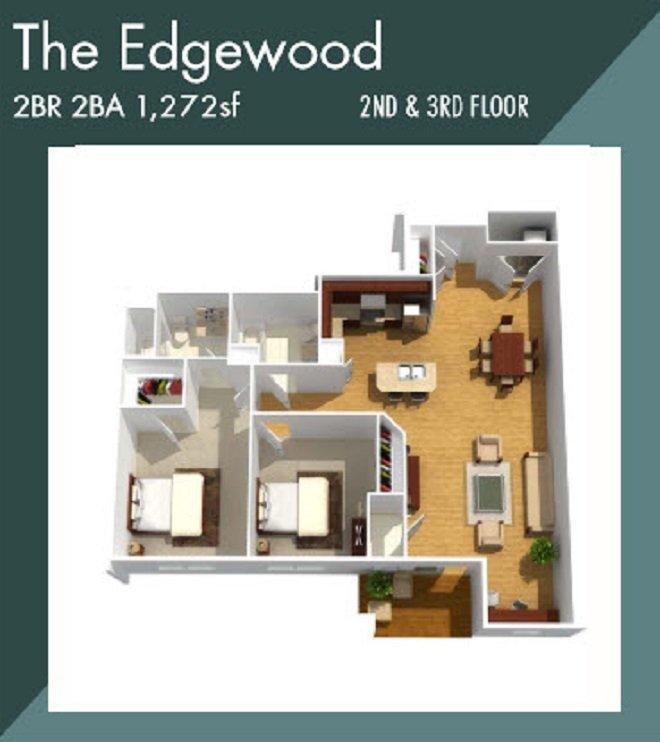 edgewood apartment floorplan